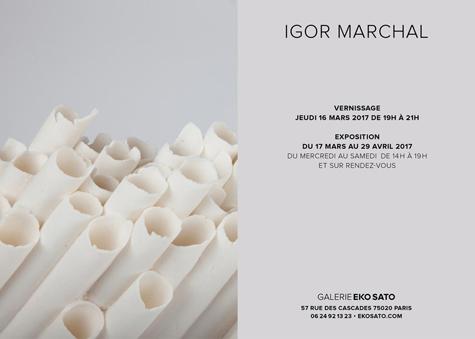 Igor Marchal    17 mars – 6 mai 2017