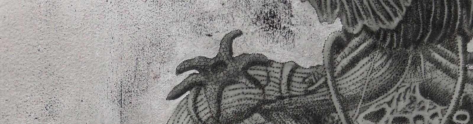 Eudes Menichetti – Indisgeste – Galerie Eko Sato – Detail Bois