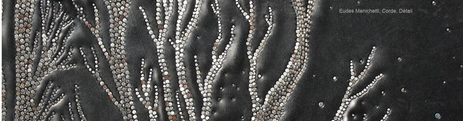 Eudes Menichetti –  Corde détail – Galerie Eko Sato
