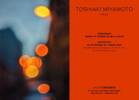 Toshiaki Miyamoto 15 Février – 7 Mars 2020