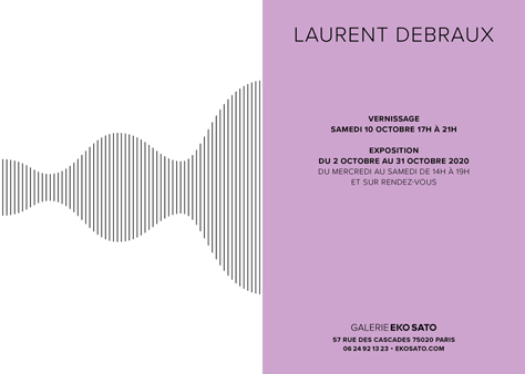 Laurent Debraux   2 – 31 Octobre 2020