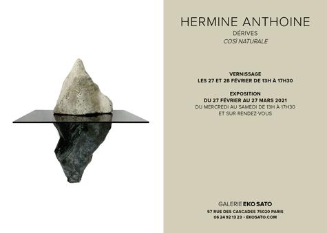 Hermine Anthoine, 27 fév-27 mars 2021